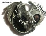 Senga Dragon Belt Buckle + display stand. Code AE2
